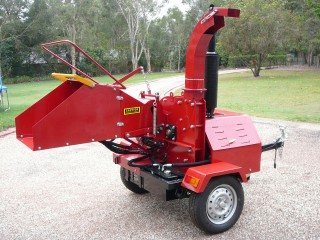 22hp Diesel 200mm Feed Wood Chipper