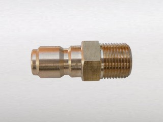 "3/8"" Male Thread to 3/8"" Male Quick Connector (C)"