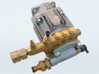 "Brass Pressure Washer Pump with 3/8"" Female Quick Connect"