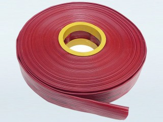 "Maxi-Pro Red Heavy Duty Layflat Discharge Hose - 1.5"" (38mm) x 20m"