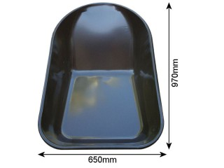 Replacement 100L Steel Wheelbarrow Tub