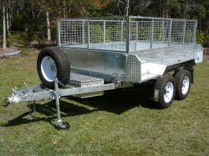 Maxi-Pro 8' x 5' Hydraulic Tipper Tandem Wheel Trailer
