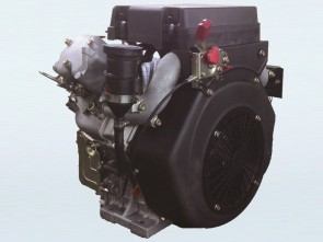 22hp V-Twin Electric Start Diesel Engine