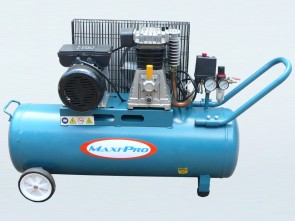 3hp Belt Driven Electric 50L Twin Cylinder 300LPM Air Compressor