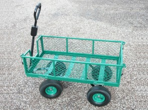 Heavy Duty Garden Mesh Cart / Trolley - 250kg Capacity