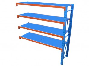 Long Span Shelving 2m Long - 200kg/Shelf Add-On Unit