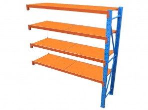 Long Span Shelving 2m Long - 500kg/Shelf Add-On Unit