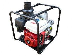 """Maxi-Pro 4"""" Water Pump with 13hp Electric Start Petrol Engine"""