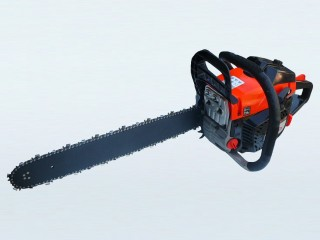 """Maxi-Pro Red / Black Chainsaw 58cc 20"""" Bar and Chain"""