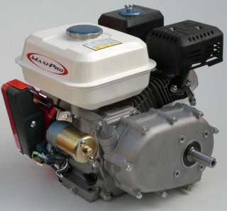Maxi-Pro 6.5hp Stationary Engine with 2:1 Reduction, Electric Start, Wet Clutch & 20mm Output Shaft