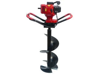 72cc Post Hole Digger with 150mm & 200mm Auger Bits