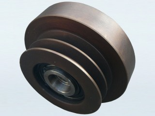 "5"" (127mm) Twin Belt Pulley with 170mm Drum and built in Centrifugal Clutch (1"" Bore)"
