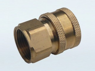 """22mm Female Thread to 3/8"""" Female Quick Connector (V)"""