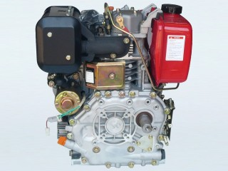 13hp Electric Start Diesel Engine with 2:1 Reduction
