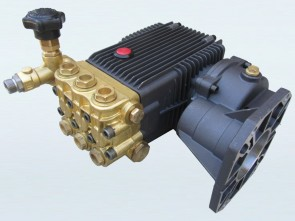 Brass Pressure Washer Pump - 5000psi - 25L/min with Gearbox Drive