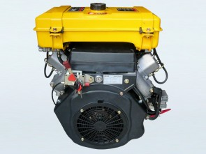 22hp V-Twin Electric Start Yakai Diesel Engine