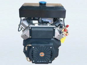 27hp V-Twin Electric Start Yakai Diesel Engine