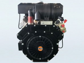 30hp V-Twin Electric Start Yakai Diesel Engine
