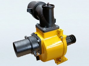 "Belt / Pulley Driven 4"" Water Transfer Pump / Housing / Wet End"