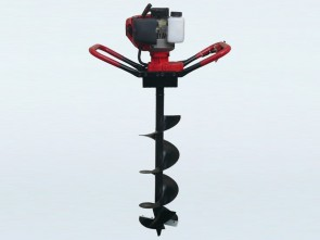 62cc Post Hole Digger with 150mm & 300mm Auger Bits