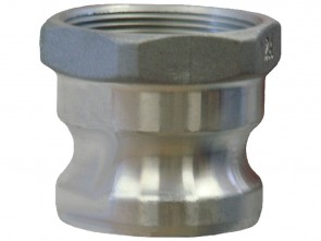 "25mm (1"") Type 'A' Aluminium Camlock Fitting"