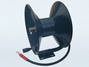 Hand Crank Pressure Washer Hose Reel with Fixed Base & 30m Hose Capacity