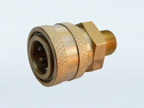 "14mm Male Thread to 3/8"" Female Quick Connector (M)"