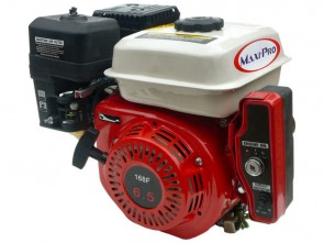 Maxi-Pro 6.5hp Electric Start Stationary Engine with 2:1 Speed Reduction, 20mm Output