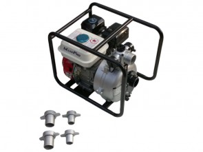 "Maxi-Pro 7hp Electric Start Water Pump High Pressure 2"" Twin Impeller"