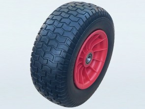 Maxi-Pro No Flat Spare Wheel 16 x 6.5-8 suits 25.4mm Axle (Red)